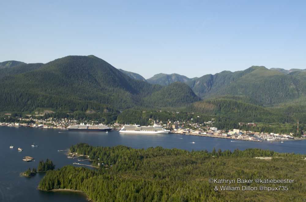 Ketchikan from the air