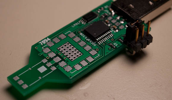 PCB ready for module