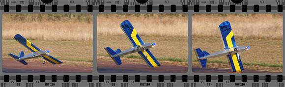 Takeoff cartwheel